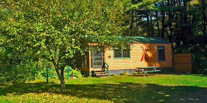 Deluxe Cabin at Silver Lake Park Campground