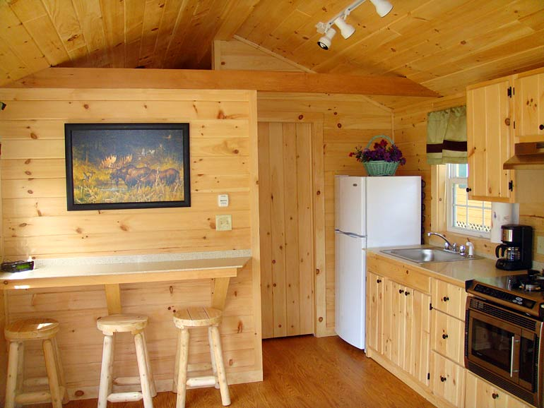 Silver Lake Park Campground Cabin Rentals