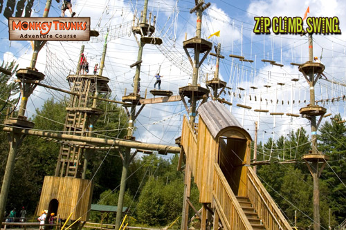 Monkey Trunks Adventure Course